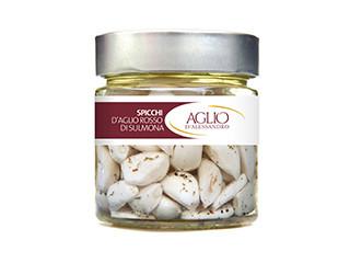 Spicchi d'aglio rosso di Sulmona